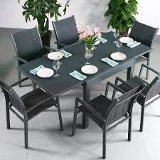 adaptability makes this chloe grey 6 seater extending dining table perfect for smaller rooms