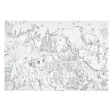 ディズニープリンセス 大人の塗り絵 アリエル ベル ラプンツェル ポストカード 550 メルカリ
