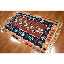 flat woven wool rug woven wool rug flat weave wool area rugs tribal multicolored pure wool