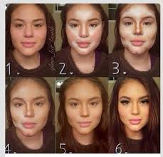 use make up to contour your face contouring and highlighting step 1 find the places on your face that light should shine on
