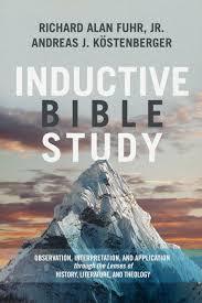 Inductive Bible Study Observation Interpretation And