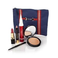 signature club a plexion enhancing kit w makeup bag