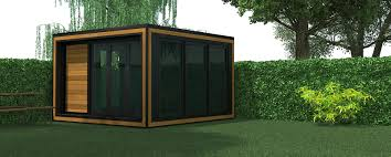 home office in garden. This Provides The Perfect Balance Between Two Materials And Creates A Gorgeous Interior Ambiance Making Every Smart Ideal For Use As Home Office, Office In Garden U