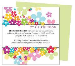 Printable Family Reunion Invitations Free Family Reunion Invitations Family Reunion Invitations
