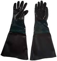 dragway tools rubber sandblasting gloves for model 60 90 110 260 sandblast cabinets sand blast cabinet gloves amazon