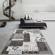 brown beige cream patchwork area rug small large contemporary fl carpet rugs 47 95 pic