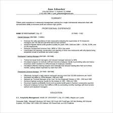 Free Blank Resume Templates For Microsoft Word Simple Manager Resume Template Free Word Excel Format Download Intended For