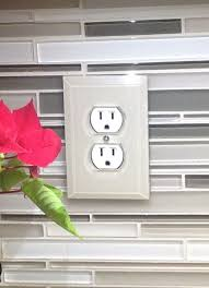 17 best ideas about outlet covers buy led lights clear beveled glass switch plates paint the back side to match your backsplash