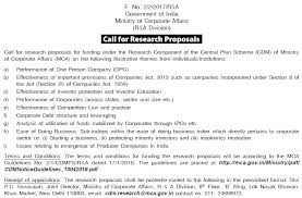 Research Proposals Interesting The Social Science Informer Call For Research Proposals Ministry