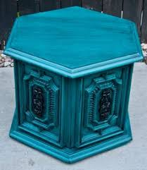 blue shabby chic furniture. modernly shabby chic furniture peacock teal side tablenightstand recently finished nightstandside table it has been in a bright blue e