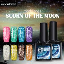 Aliexpress.com : Buy Modelones 3D Diamond Glitter Gel Polish Black ...