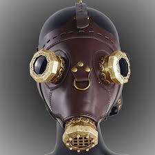 us 155 steampunk pe doctor mask costume burning man gothic punk leather mask studded face bandana vintage festival edm rave outfits pindarave