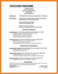 Resume For Teachers Job 24 How To Make A Cv For A Teaching Job Points Of Origins 24