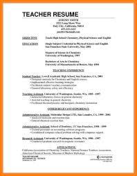 Resume Teacher Job 24 How To Make A Cv For A Teaching Job Points Of Origins 24