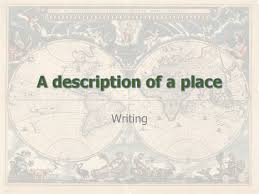 Creative Writing Help By Dylan Thomas Describing a place or a scene