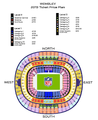 Wembley Stadium Nfl Seating Chart London Games Ticket News Nfl Com