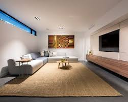 basement designers. Inspiration For A Large Modern Look-out Basement In Perth With Porcelain Floors And Grey Designers N