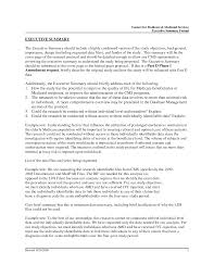 Summary For Resume Example Executive Summary Resume Example Resume Templates 91
