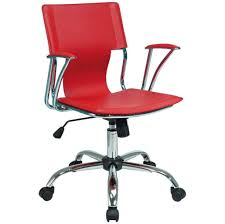 stylish home office furniture. Stylish Red Rolling Home Office Chair Design Furniture