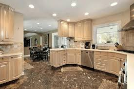 kitchen floor tiles with dark cabinets. Interesting Tiles Kitchen Dark Cabinets Light Floors White Leather Cushions Colorful Tile  Backsplash Sliding Window Gray Range In Kitchen Floor Tiles With