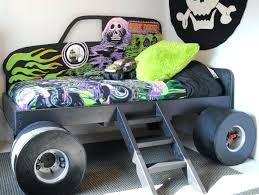 monster jam bedding sets custom made grave digger monster truck bed from special spaces cities makeover