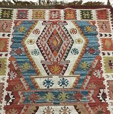 new pottery barn gianna recycled yarn kilim 4 x 6 indoor outdoor rug
