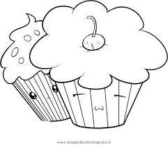 Disegno Cupcake7 Misti Da Colorare Colorare