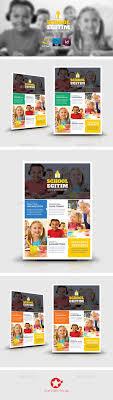 best images about flyers after school programs kids school flyer templates
