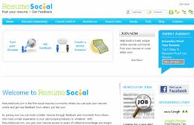 resume sites. 10 Great Social Sites for Resume Building