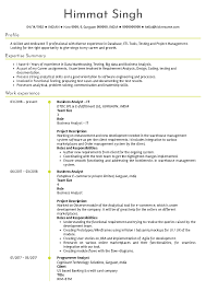 Resume Examples By Real People Dtdc Business Analyst Resume