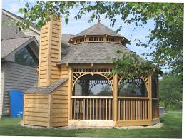 wooden gazebo kits all home ideas how to build gazebo kits for screened in