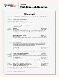 Sample Resume For First Job Template After College Time Seeker No 11