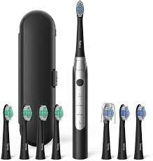 Electric Toothbrush for Adults, Dnsly Electric Toothbrush with 8 Brush  Heads, Smart Timer, Travel Case, 3 Modes Rechargeable Electric Toothbrush,  USB Charge Last 30 Days Use, Sonic Toothbrush, Black: Health & Personal  Care - Amazon.com