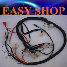 wire loom wiring harness gy6 125cc 150cc 250cc atv quad bike buggy wire loom wiring harness gy6 125cc 150cc 250cc atv quad bike buggy go kart dune