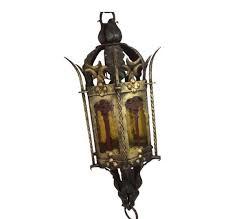 gothic lantern lighting. A Lantern Hanging Lamp In Gothic Style - Circa 1960 Lighting