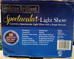 Holiday Brilliant Lights Remote Holiday Spectacular Light Show Controller T2