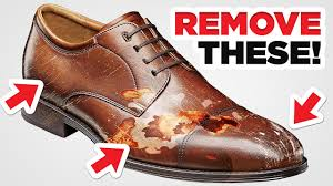 remove them from dress shoes