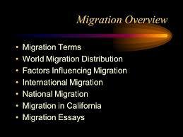 migration ppt  2 migration