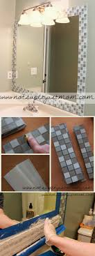 Enchanting How To Make Mosaic Mirror Frame Model Picture Frame