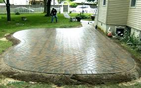 patio pavers over concrete. Fresh Pavers Over Concrete Patio For Installation Of Stone
