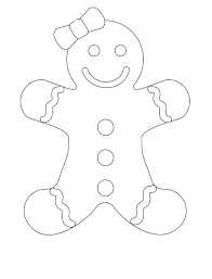 Small Picture Gingerbread Girl Coloring Page Free Coloring Pages on Art