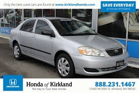 Pre-Owned 2005 Toyota Corolla CE 4dr Car in Kirkland #10078 ...