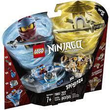 Đồ chơi LEGO NINJAGO - Con Quay Lốc Xoáy Nước Và Lốc Xoáy Tối Thượng - Mã  SP 70663