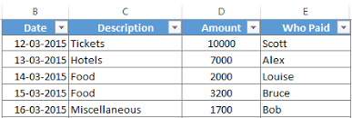 Expense Excel Template Shared Expense Calculator Download Free Excel Template