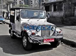 new car launches july 2015UPDATED Mahindra Thar facelift to be launched on 22 July 2015