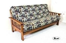 fulton homes sirona better and gardens wood arm futon with coil mattress for