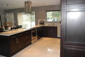 Dark Espresso Kitchen Cabinets New Kitchens With Espresso Cabinets Gohomedecoratingideas