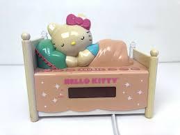 Hello Kitty Digital Am Fm Clock Radio With Night Light Hello Kitty Sleeping Kitty Alarm Clock Am Fm Radio Night Light Plug In Battery