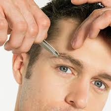 how to trim eyebrows with scissors. how to trim men\u0027s eyebrows with scissors