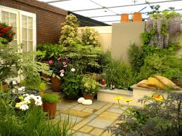 Small Picture Tiny Patio Garden Ideas Garden Design Ideas
